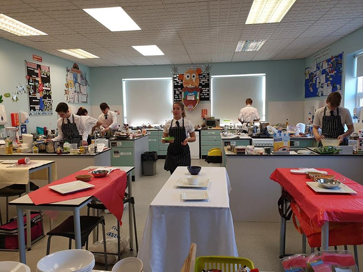 Master Chef Silcoates Year 11 Food Preparation & Nutrition students