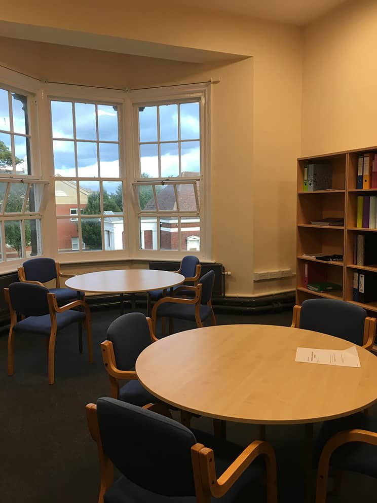 Sixth Form Common Room Silcoates School, Wakefield