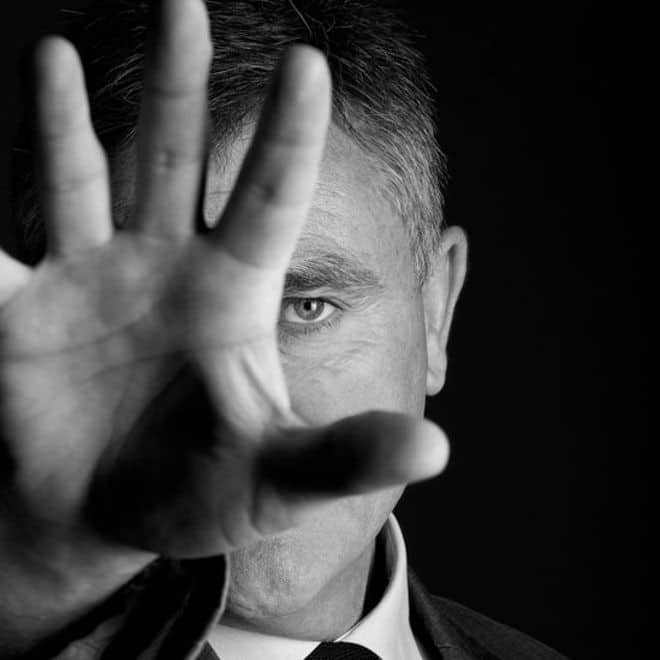 Publicity Shot of Andy McNab